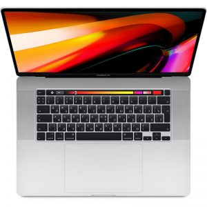 "Ноутбук Apple MacBook Pro 16"" 6 Core i7 2,6 ГГц, 16 ГБ, 512 ГБ SSD, AMD Radeon Pro 5300M, Touch Bar, Silver (серебристый) (MVVL2)"