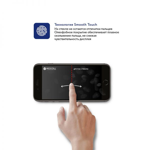 Стекло защитное для iPhone SE 2020 Black полноразмерное закаленное MOCOLL серия Storm 2.5D Full Cover-4