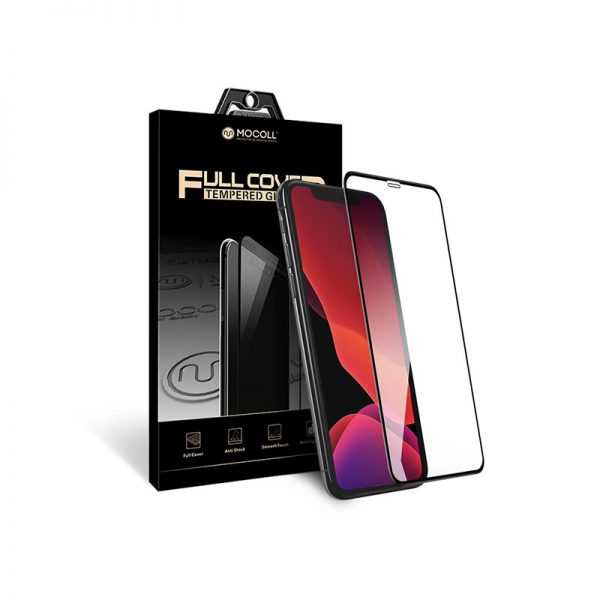 Стекло защитное для iPhone X / XS / 11 Pro прозрачное закаленное MOCOLL серия Storm 2.5D Full Cover