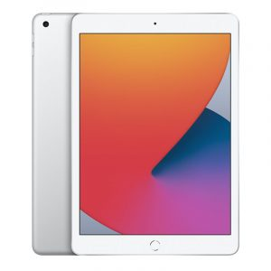 Планшет Apple iPad (2020) 128Gb Wi-Fi + Cellular Cеребристый (MYMM2)