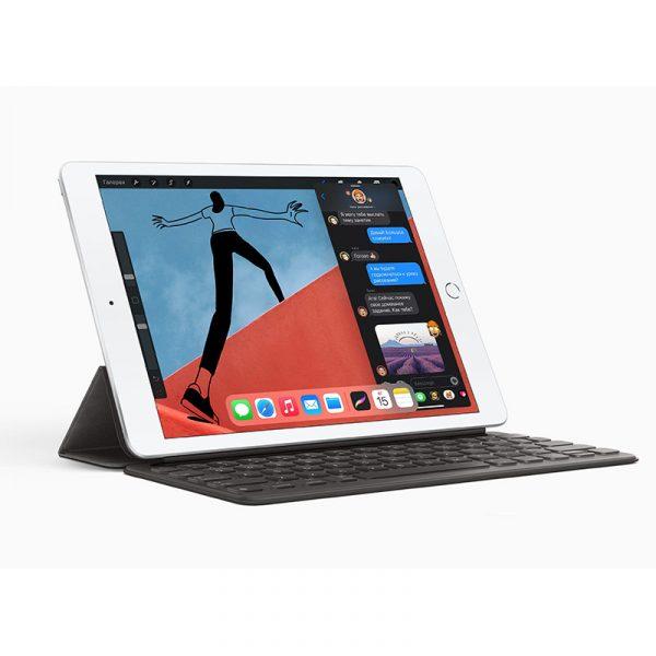 Планшет Apple iPad (2020) 128Gb Wi-Fi Cеребристый (MYLE2) - 3