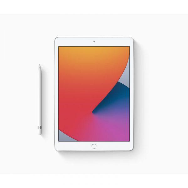 Планшет Apple iPad (2020) 32Gb Wi-Fi + Cellular Cеребристый (MYMJ2) - 1