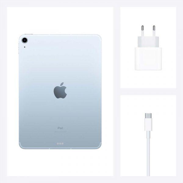 Планшет Apple iPad Air (2020) 256Gb Wi-Fi + Cellular Голубое небо (MYH62) - 7