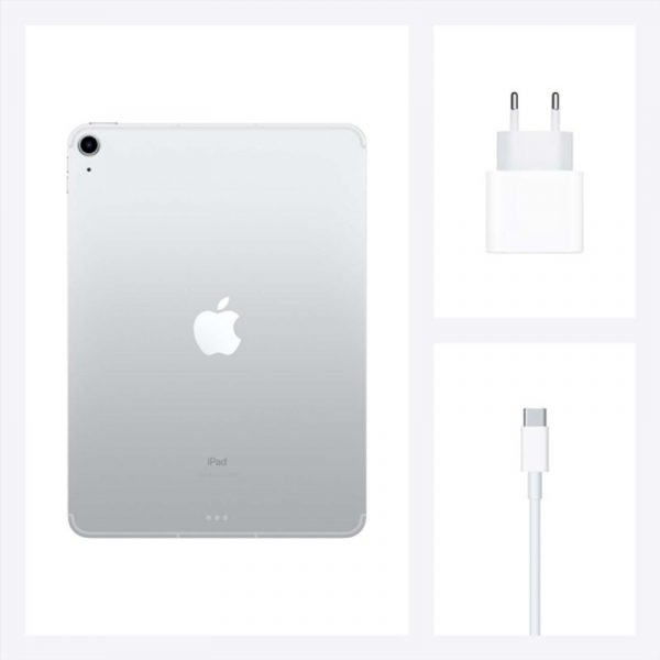 Планшет Apple iPad Air (2020) 256Gb Wi-Fi + Cellular Серебристый (MYH42) - 7