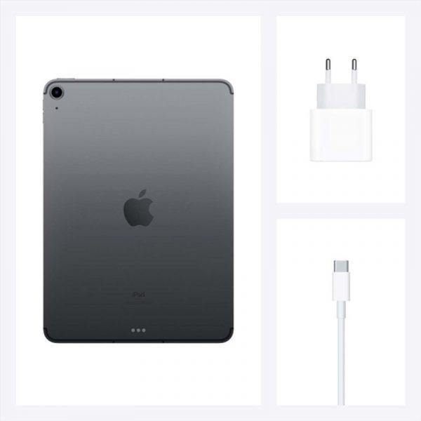 Планшет Apple iPad Air (2020) 256Gb Wi-Fi Серый космос (MYFT2) - 7