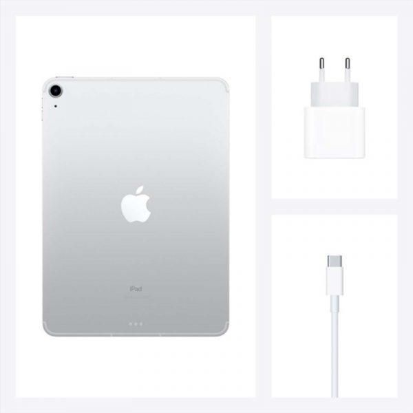Планшет Apple iPad Air (2020) 64Gb Wi-Fi + Cellular Серебристый (MYGX2)-7