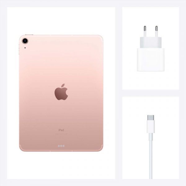 Планшет Apple iPad Air (2020) 64Gb Wi-Fi Розовое золото (MYFP2)-7
