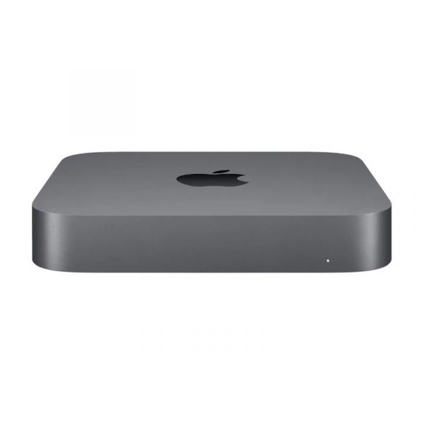 Настольный компьютер Apple Mac Mini (2018) Slim-Desktop/Intel Core i3-8100/8 ГБ/128 ГБ SSD/Intel UHD Graphics 630/OS X, серый космос, (MRTR2)