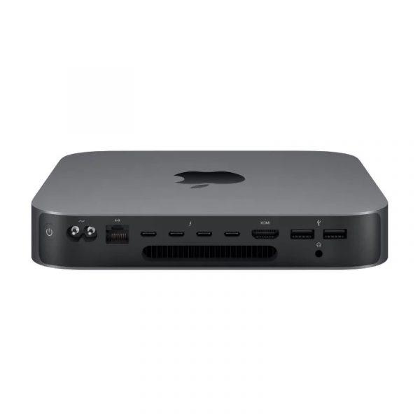 Настольный компьютер Apple Mac Mini (2018) Slim-Desktop/Intel Core i3-8100/8 ГБ/128 ГБ SSD/Intel UHD Graphics 630/OS X, серый космос, (MRTR2) - 1