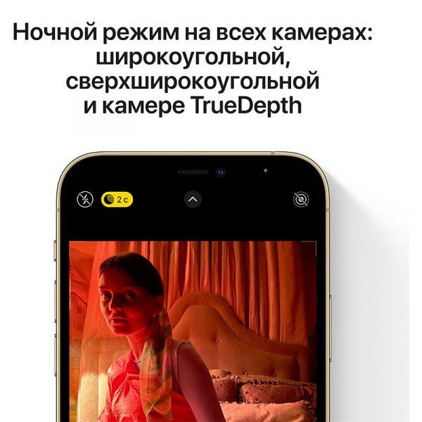 Смартфон Apple iPhone 12 Pro 256GB Gold золотой (MGMR3) - 5