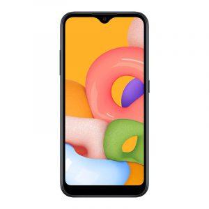 Смартфон Samsung Galaxy M01 черный