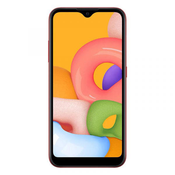 Смартфон Samsung Galaxy M01 красный - 01