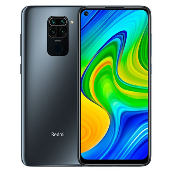 Смартфон Xiaomi Redmi Note 9 3/64GB черный-0
