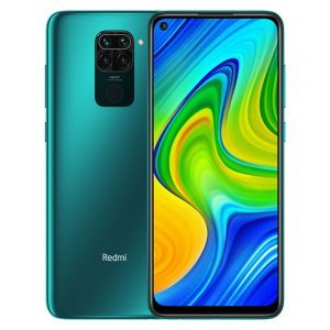 Смартфон Xiaomi Redmi Note 9 3/64GB зеленый