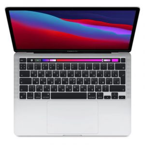 "Ноутбук Apple MacBook Pro 13"" (M1, 2020) 8 ГБ, 256 ГБ SSD, Touch Bar, Silver, серебристый (MYDA2) - 1"