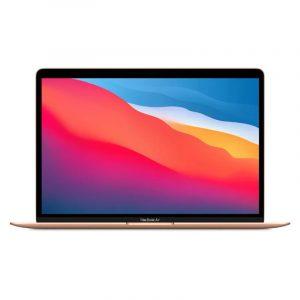 Ноутбук Apple MacBook Air (M1, 2020) 8 ГБ, 256 ГБ SSD Gold, золотой (MGND3)
