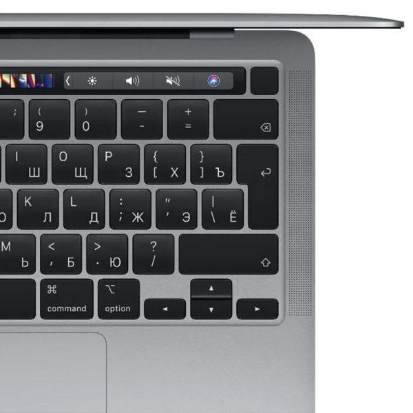 "Ноутбук Apple MacBook Pro 13"" (M1, 2020) 8 ГБ, 512 ГБ SSD, Touch Bar, Space Gray, серый космос (MYD92) - 2"