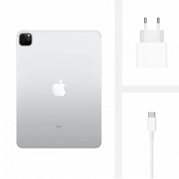 Планшет Apple iPad Pro 11 (2020) 512Gb Wi-Fi + Cellular Silver (серебристый) - 4