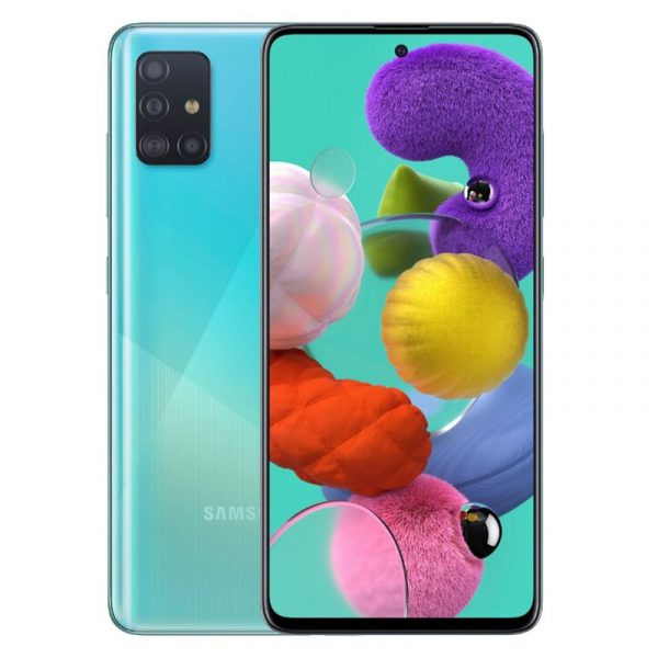 Смартфон Samsung Galaxy A51 (2019) 6/128Gb Blue (Голубой)