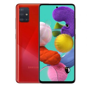 Смартфон Samsung Galaxy A51 (2019) 6/128Gb Red (красный)