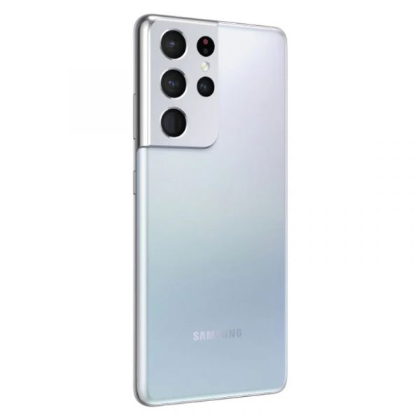 Смартфон Samsung Galaxy S21 Ultra 5G 12/256GB Серебряный Фантом-3