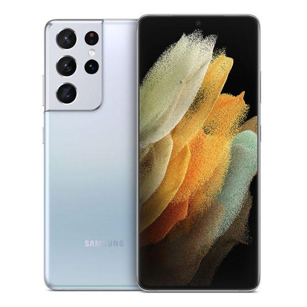Смартфон Samsung Galaxy S21 Ultra 5G 12/256GB Серебряный Фантом