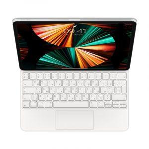Клавиатура Magic Keyboard для iPad Pro 12.9 дюйма (5‑го поколения) белый