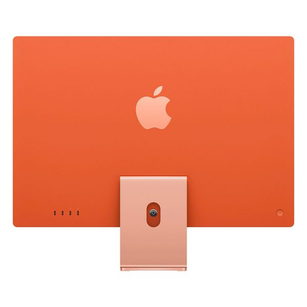 "Моноблок Apple iMac 24"" Retina 4,5K, (M1 8C CPU, 7C GPU), 8 ГБ, 256 ГБ SSD, Оранжевый-3"