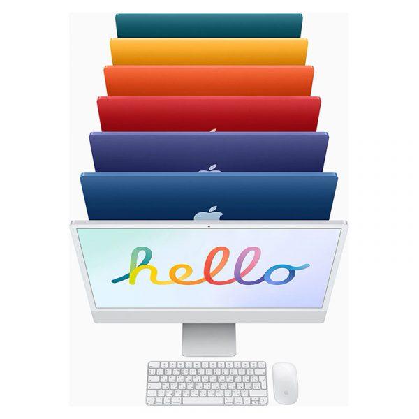 """Моноблок Apple iMac 24"""" Retina 4,5K, (M1 8C CPU, 7C GPU), 8 ГБ, 256 ГБ SSD, Серебристый (MGPN3)-6"""