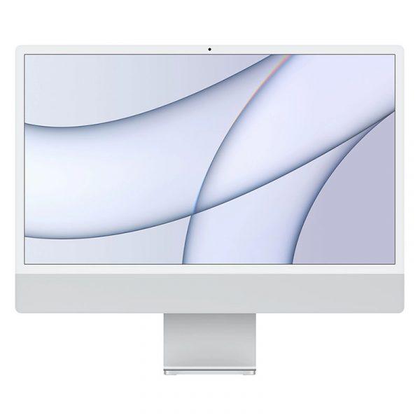 """Моноблок Apple iMac 24"""" Retina 4,5K, (M1 8C CPU, 7C GPU), 8 ГБ, 256 ГБ SSD, Серебристый (MGPN3)"""