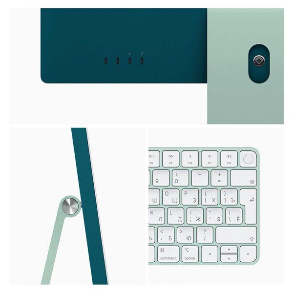 "Моноблок Apple iMac 24"" Retina 4,5K, (M1 8C CPU, 7C GPU), 8 ГБ, 256 ГБ SSD, Зеленый (MGPN3)-3"