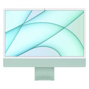 "Моноблок Apple iMac 24"" Retina 4,5K, (M1 8C CPU, 7C GPU), 8 ГБ, 256 ГБ SSD, Зеленый (MGPN3)"