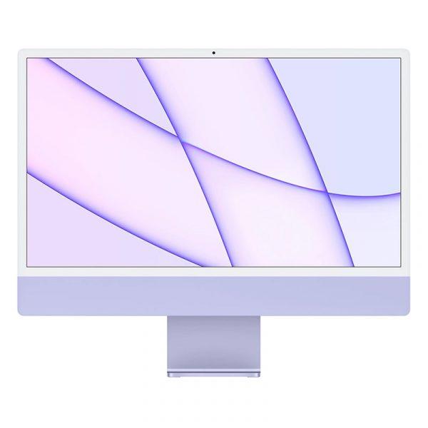 "Моноблок Apple iMac 24"" Retina 4,5K, (M1 8C CPU, 8C GPU), 8 ГБ, 256 ГБ SSD, Фиолетовый"