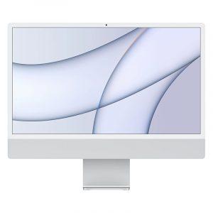 """Моноблок Apple iMac 24"""" Retina 4,5K, (M1 8C CPU, 8C GPU), 8 ГБ, 256 ГБ SSD, Серебристый (MGPN3)"""