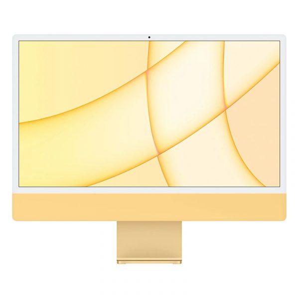 """Моноблок Apple iMac 24"""" Retina 4,5K, (M1 8C CPU, 8C GPU), 8 ГБ, 256 ГБ SSD, Желтый"""