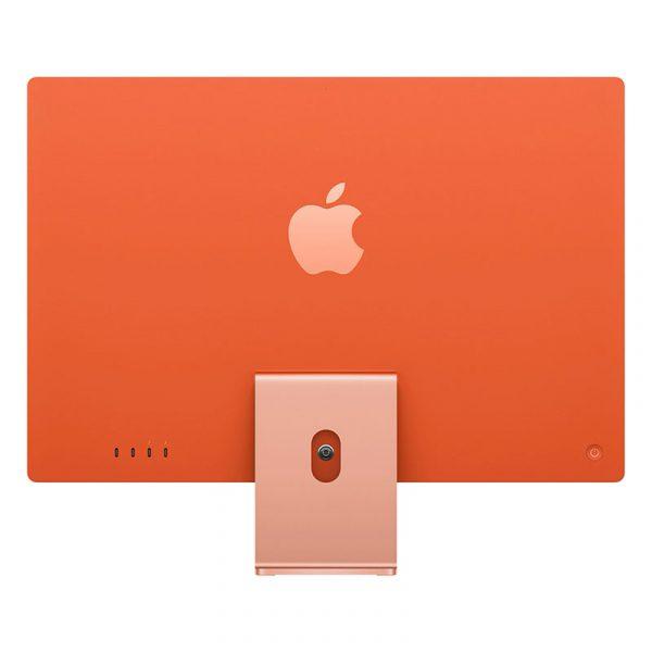 "Моноблок Apple iMac 24"" Retina 4,5K, (M1 8C CPU, 8C GPU), 8 ГБ, 512 ГБ SSD, Оранжевый-3"