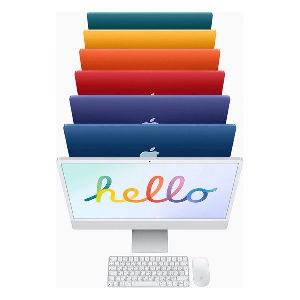 "Моноблок Apple iMac 24"" Retina 4,5K, (M1 8C CPU, 8C GPU), 8 ГБ, 512 ГБ SSD, Розовый (MGPN3) - 9"