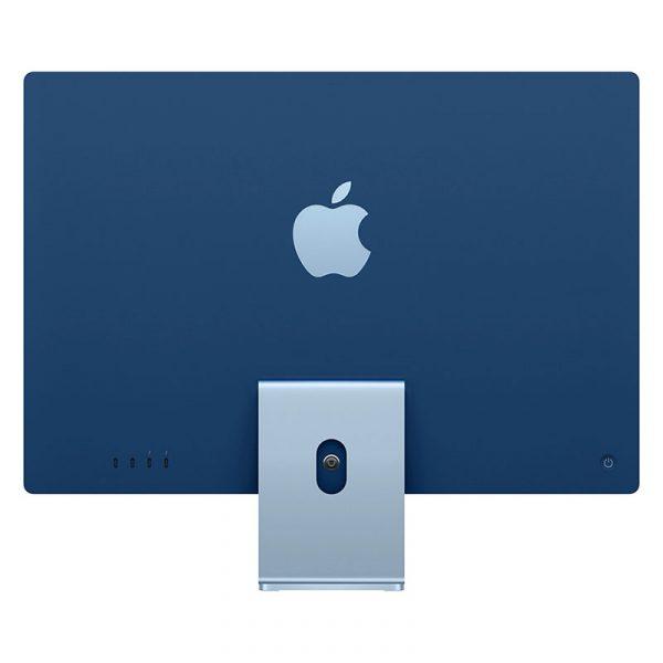 Моноблок Apple iMac 24″ Retina 4,5K, (M1 8C CPU, 8C GPU), 8 ГБ, 512 ГБ SSD, Синий (MGPN3) - 3