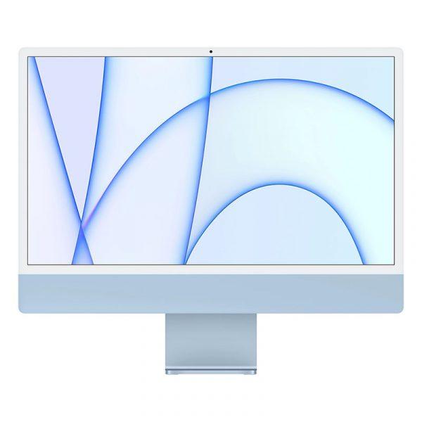 Моноблок Apple iMac 24″ Retina 4,5K, (M1 8C CPU, 8C GPU), 8 ГБ, 512 ГБ SSD, Синий (MGPN3)