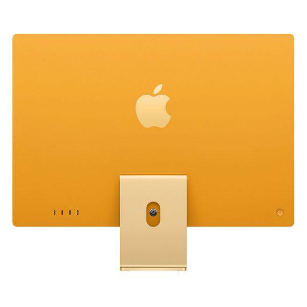 """Моноблок Apple iMac 24"""" Retina 4,5K, (M1 8C CPU, 8C GPU), 8 ГБ, 512 ГБ SSD, Желтый-2"""