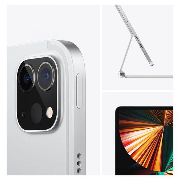 Планшет Apple iPad Pro 12.9 Wi-Fi + Cellular 128GB (2021) Silver Серебристый (MHR53)-3