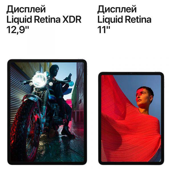 Планшет Apple iPad Pro 12.9 Wi-Fi + Cellular 128GB (2021) Space gray Серый космос (MHR43)-5