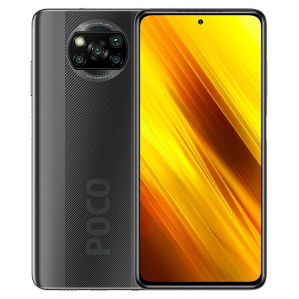 Смартфон Xiaomi Poco X3 6/128GB Grey-1