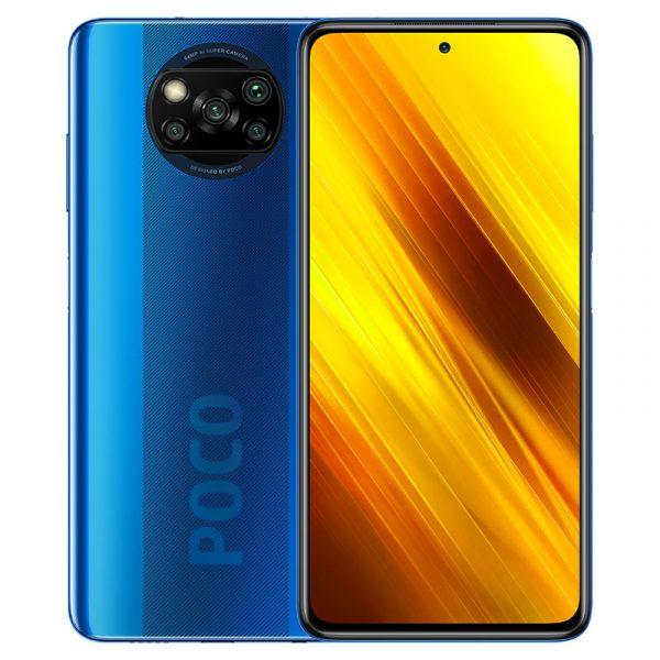 Смартфон Xiaomi Poco X3 6/64GB Blue-1