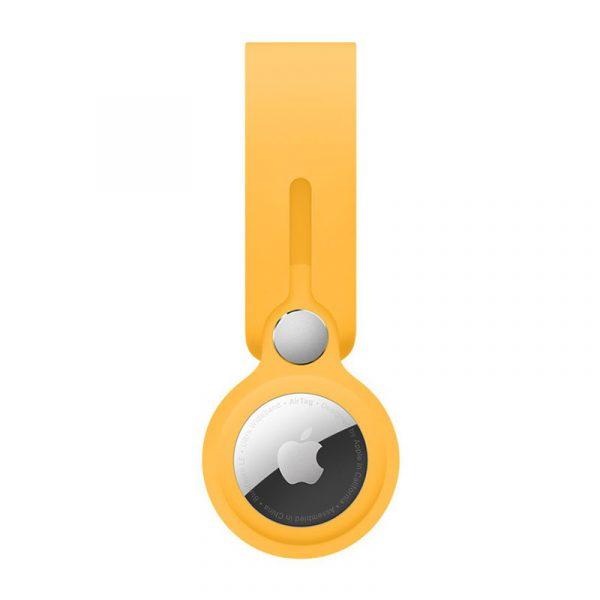 Брелок-подвеска Apple для AirTag ярко-жёлтый
