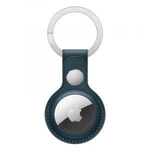 Чехол Apple для AirTag с кольцом для ключей балтийский синий