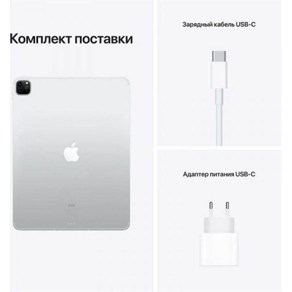 Планшет Apple iPad Pro 11 Wi-Fi 128GB (2021) Space gray Серый космос (MHQR3)-8