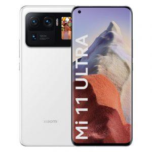 Смартфон Xiaomi Mi11 Ultra 12/256GB White Белый