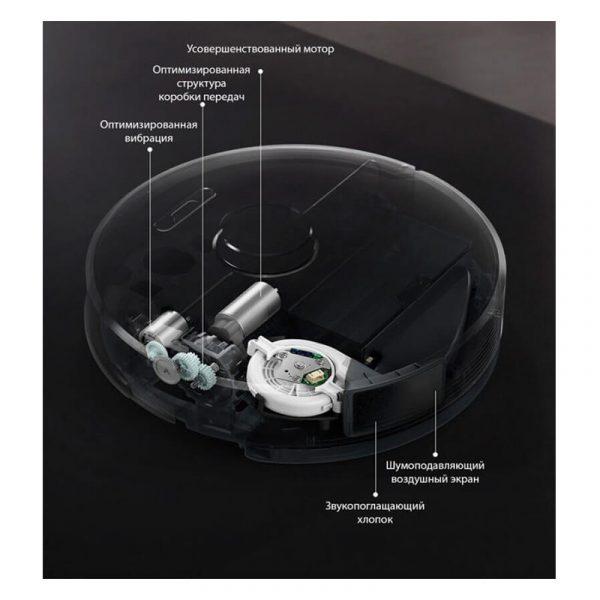 Робот-пылесос Xiaomi Roborock S6 Черный-2