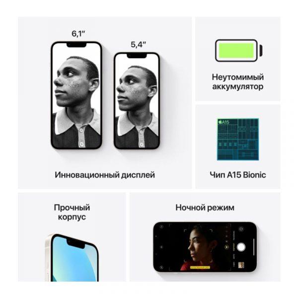 Смартфон Apple iPhone 13 128GB Starlight (MLNX3)-6